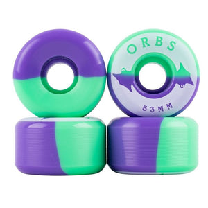 Welcome Orbs Specters 53mm (Mint/Purple)