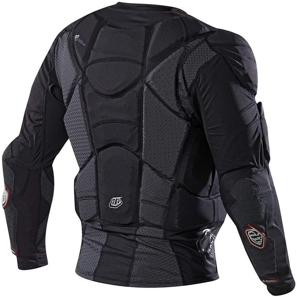 Troy Lee Designs 7855 Upper Protection Long Sleeve Race Shirt - Black
