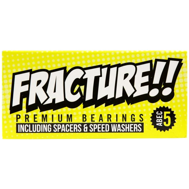 Fracture Premium Abec 5 Yellow Bearings