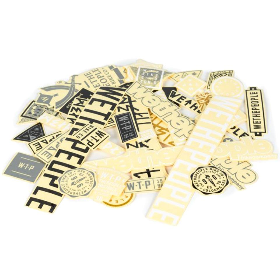Wethepeople Brand Sticker Pack