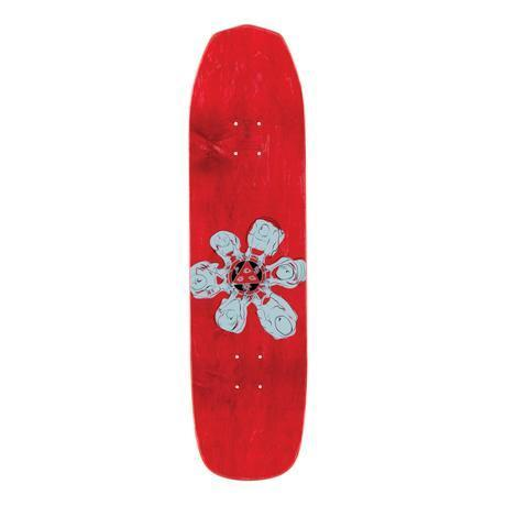 Welcome Skateboards Maned Woof on Vimana Skate Deck - Black/Various Stains/ 8.25""