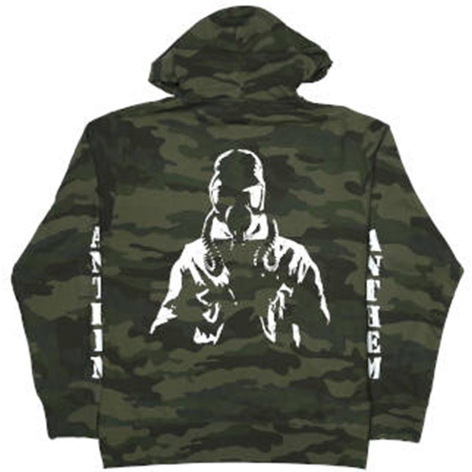 Image of Anthem Zip Up Hoodie - Camo