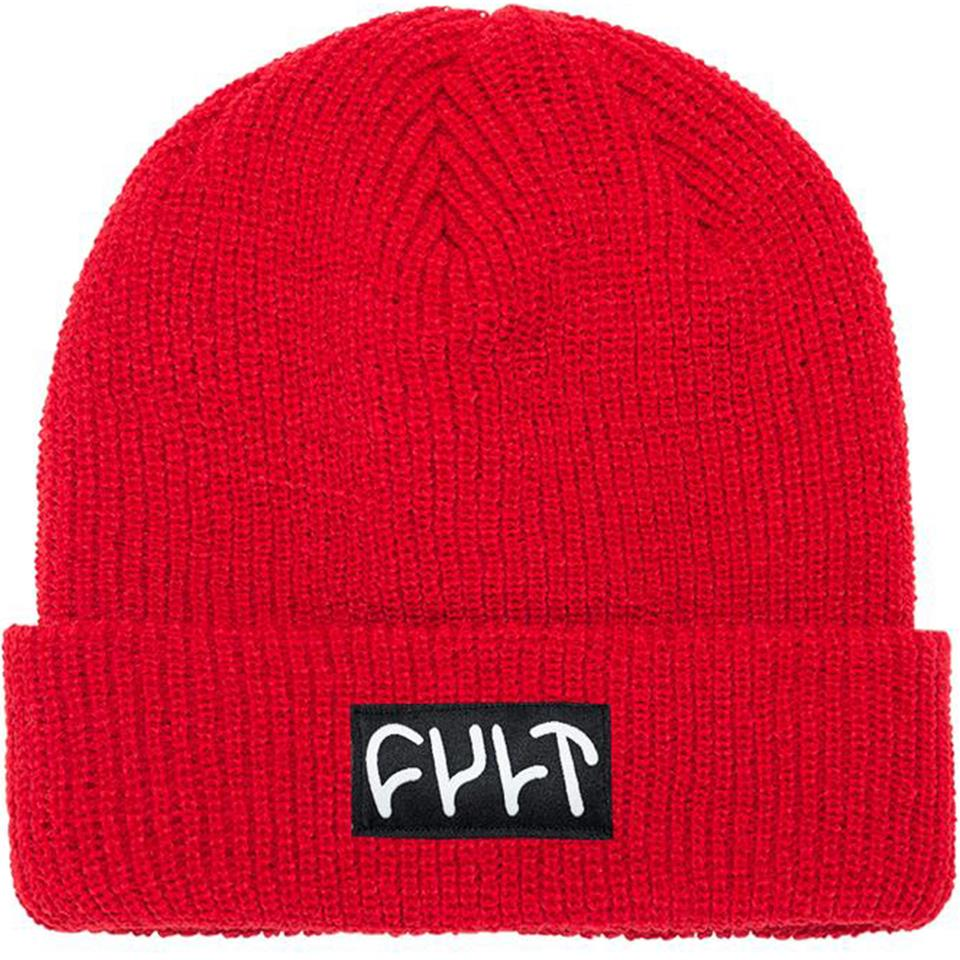 Image of Cult Witness Beanie - Red