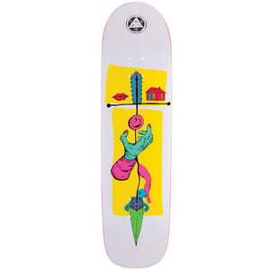 Welcome Skateboards Obelus on Son of Planchette/ White