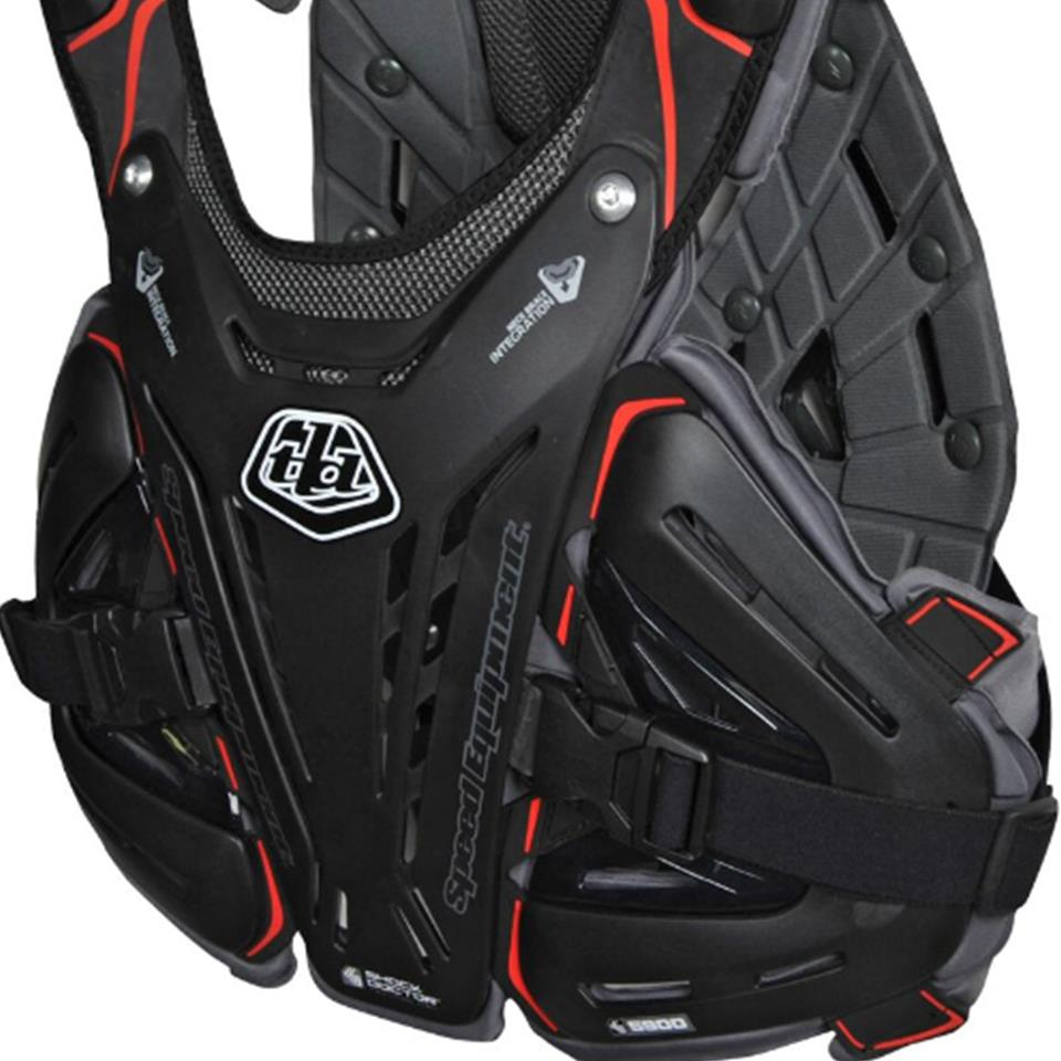 Image of Troy Lee Youth BG5900 Race Chest Protector - Black