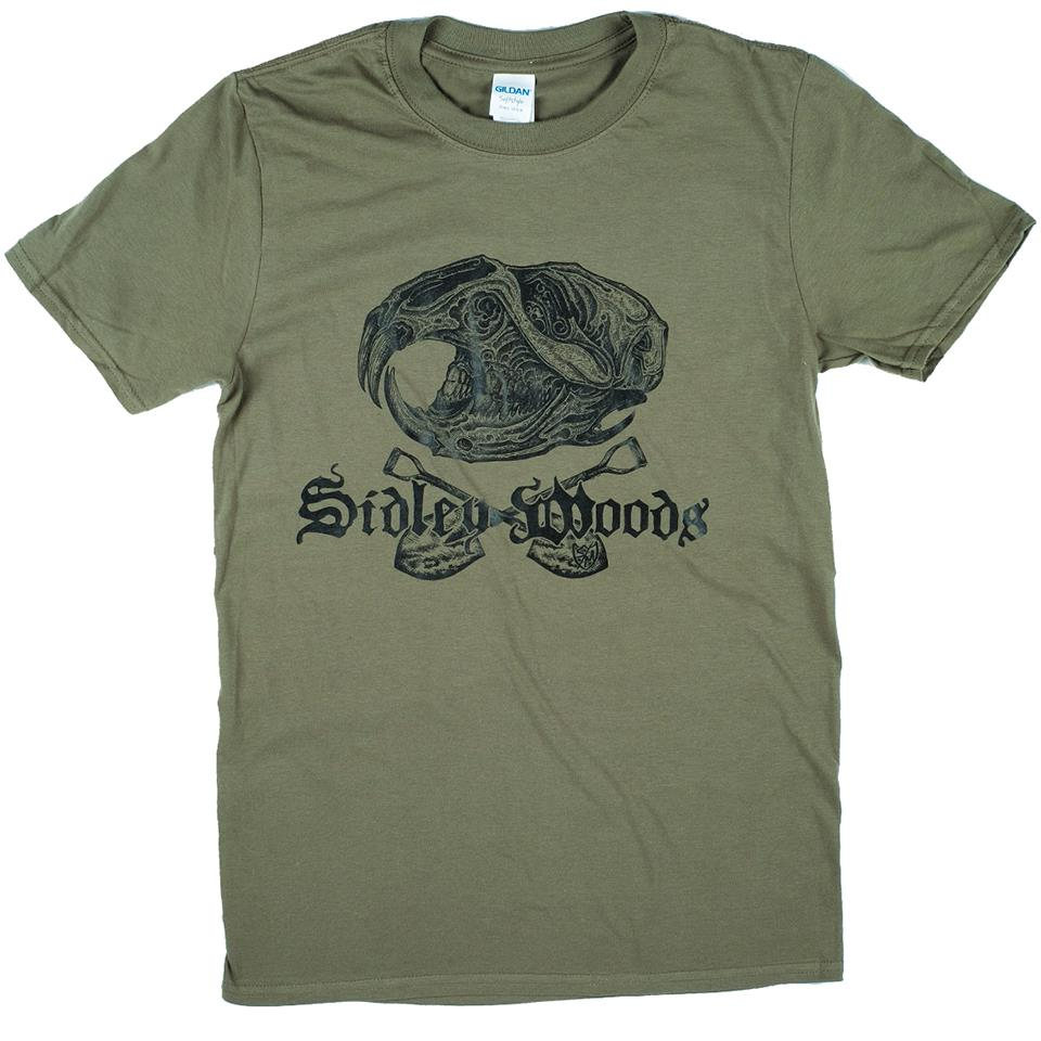 Sidley Woods Locals T-Shirt - Forest Green