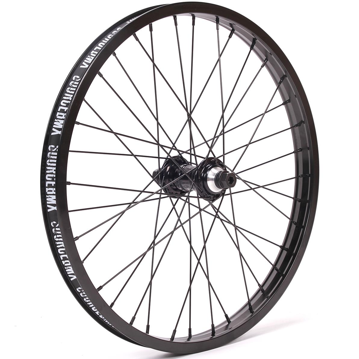 Image of Profile Mini / Alienation Black Sheep Custom Front Wheel