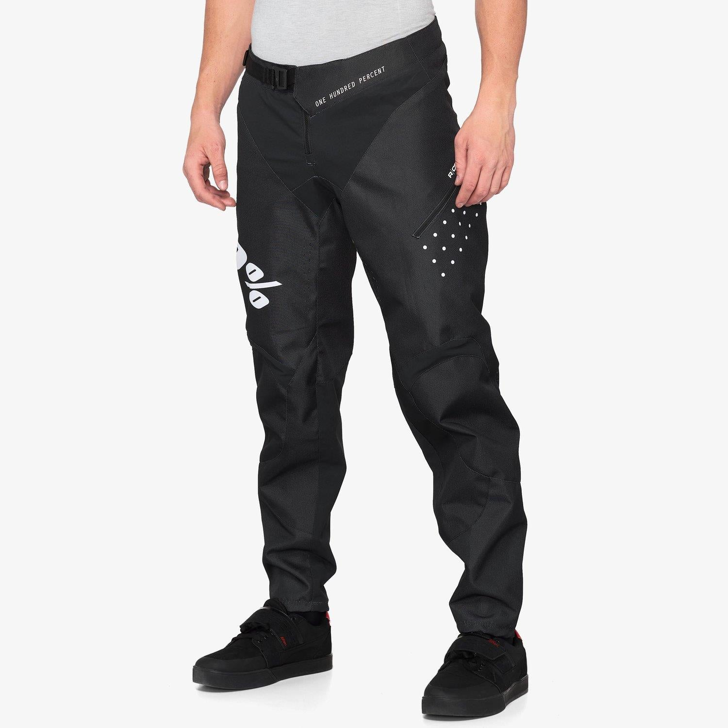 100% R-Core Race Pants - Black
