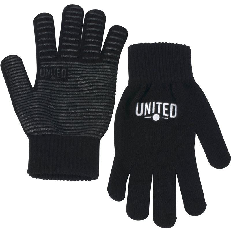 United Signature Knitted Grip Gloves