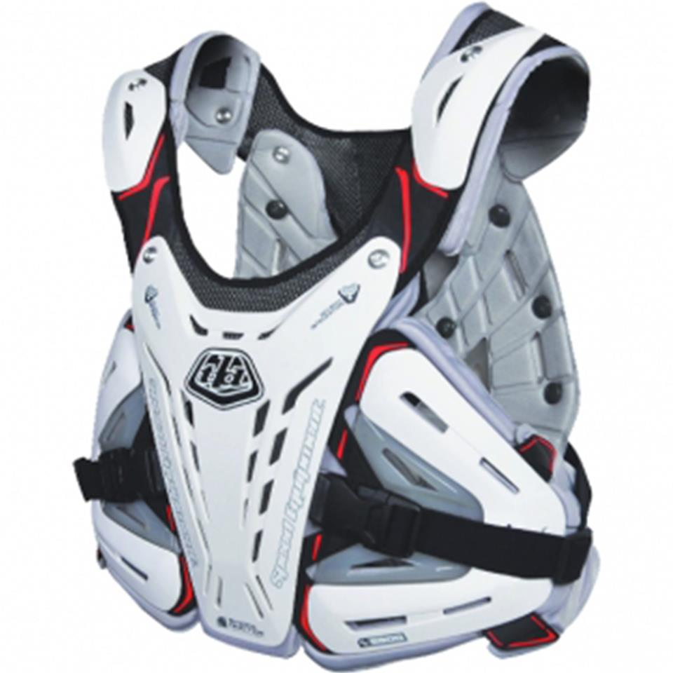 Image of Troy Lee Youth BG5900 Race Chest Protector - White