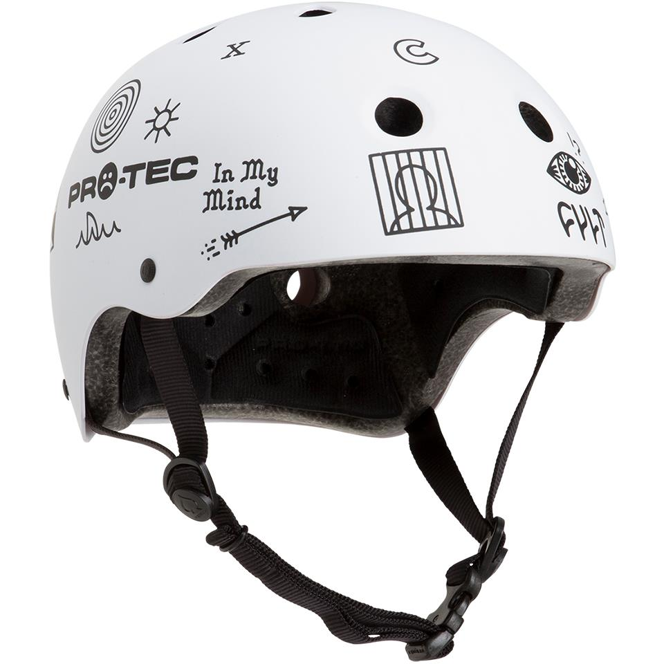 Image of Pro-Tec Classic Certified Cult Helmet - Matte White