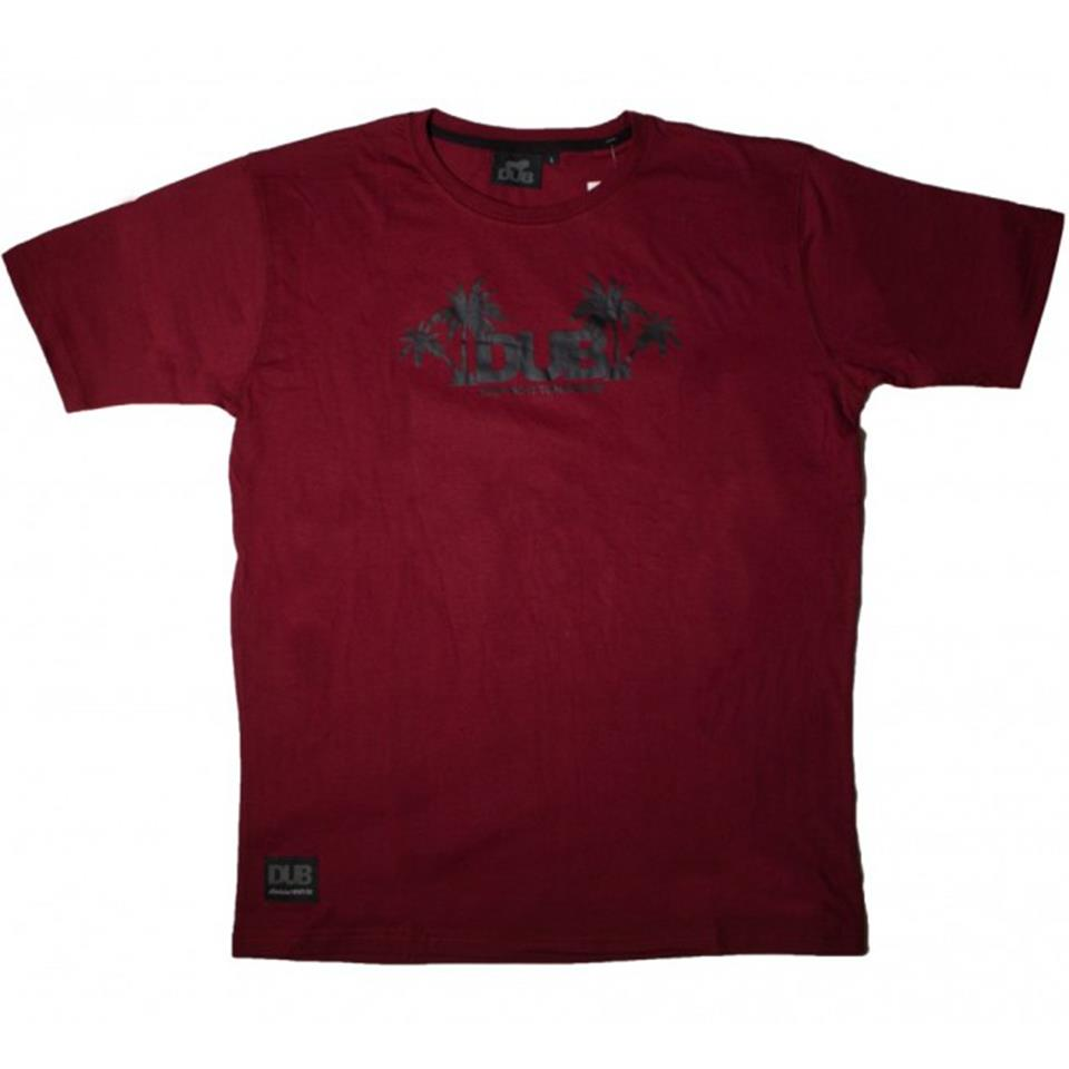 Image of Dub Just Do It Tomorrow T-Shirt - Red/Black