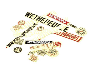 Wethepeople Sticker Pack