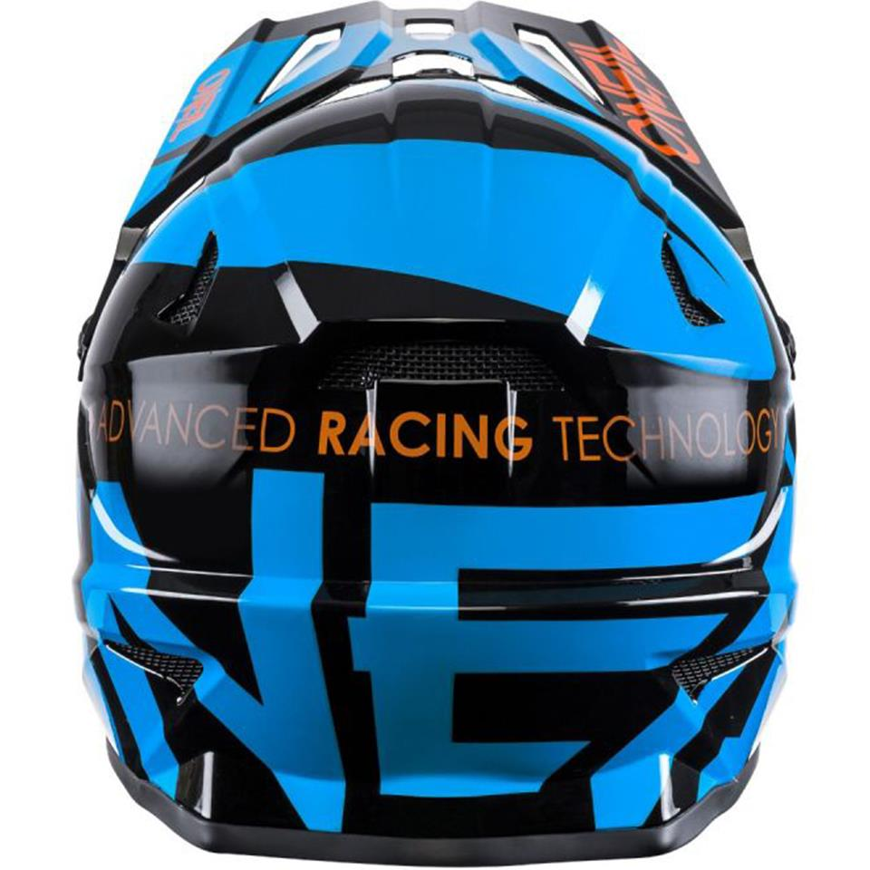 O'Neal Backflip Race Helmet - Slick Black/Blue