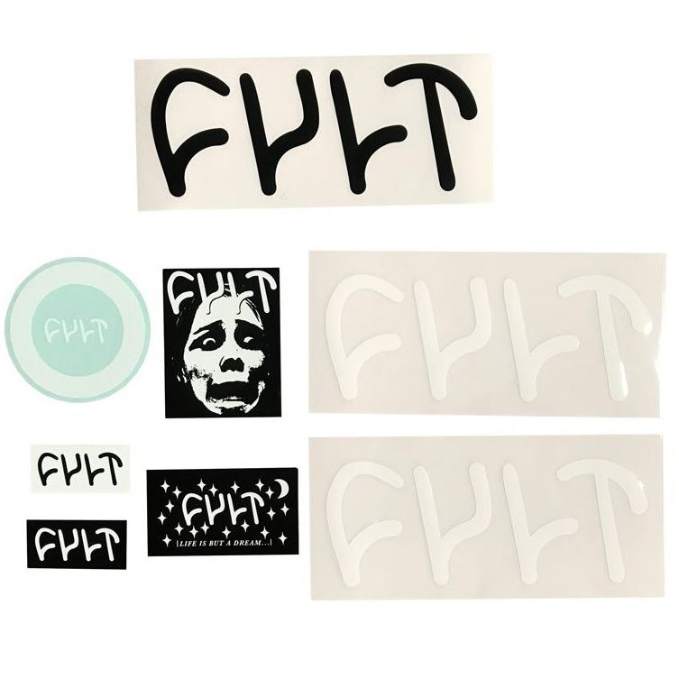 Cult 8pc Sticker Pack
