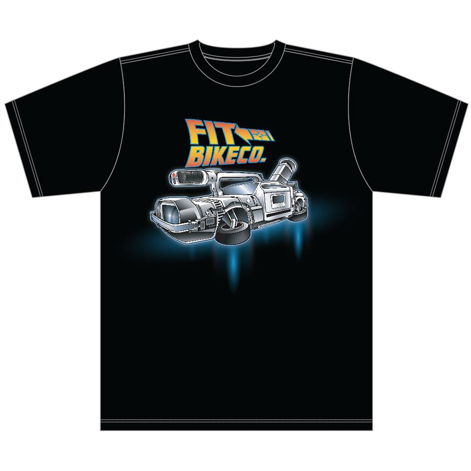 Fit VX Time Machine T-Shirt - Black