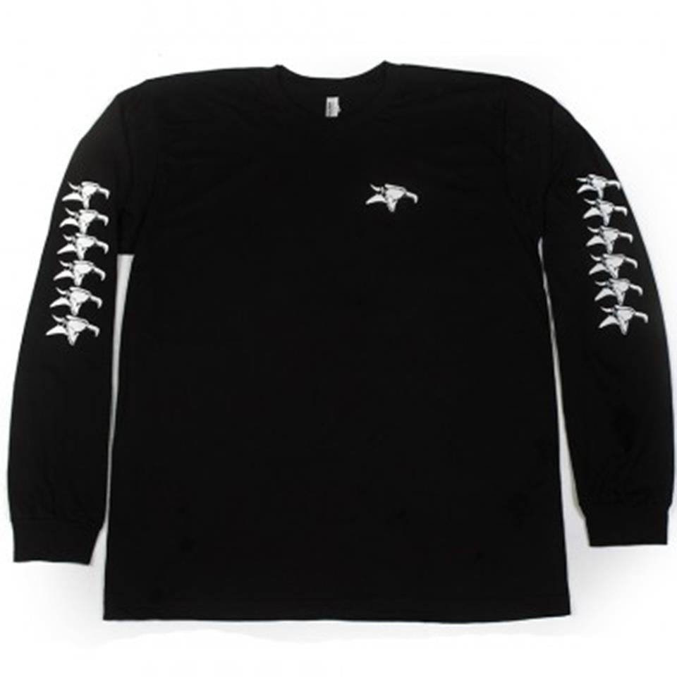 Animal Repeater Long Sleeve T-Shirt - Black