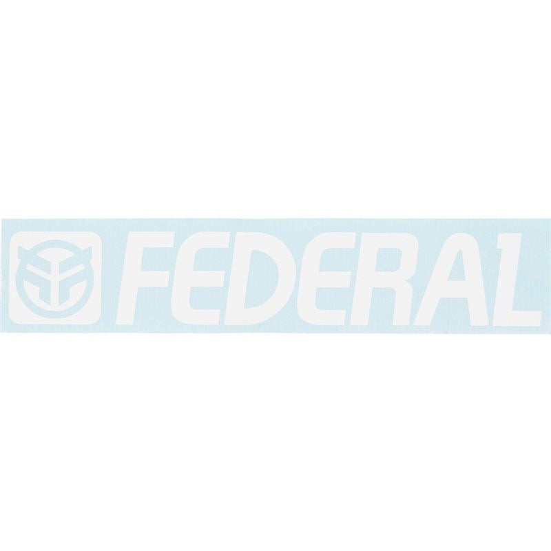 Federal 170mm Die Cut Sticker