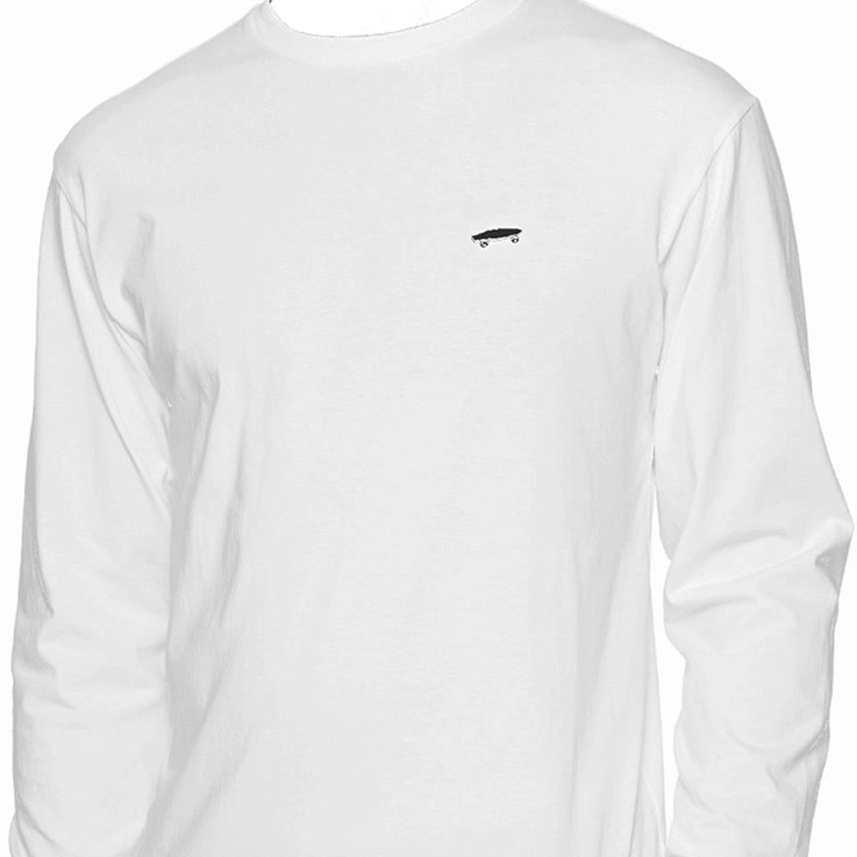 Image of Vans Skate Long Sleeve T-Shirt - White
