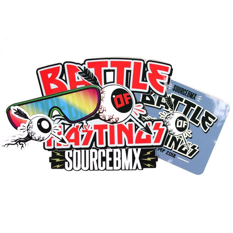 Image of Source Battle of Hastings Sticker Pack 5 Pack