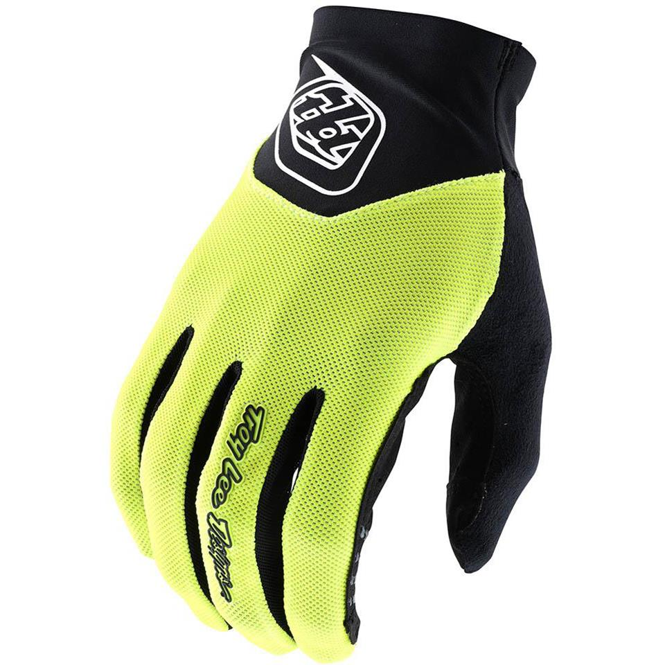 Image of Troy Lee V2 Ace 2.0 Race Glove - Flo Yellow