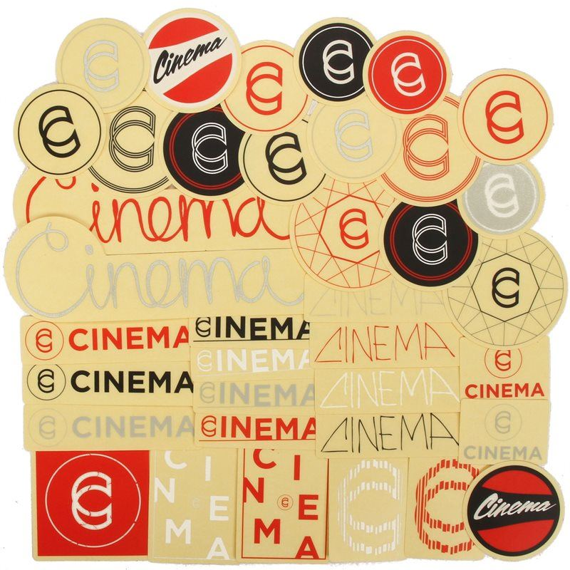 Cinema Assorted Sticker Pack
