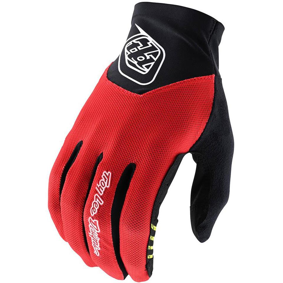 Image of Troy Lee V2 Ace 2.0 Race Glove - Red