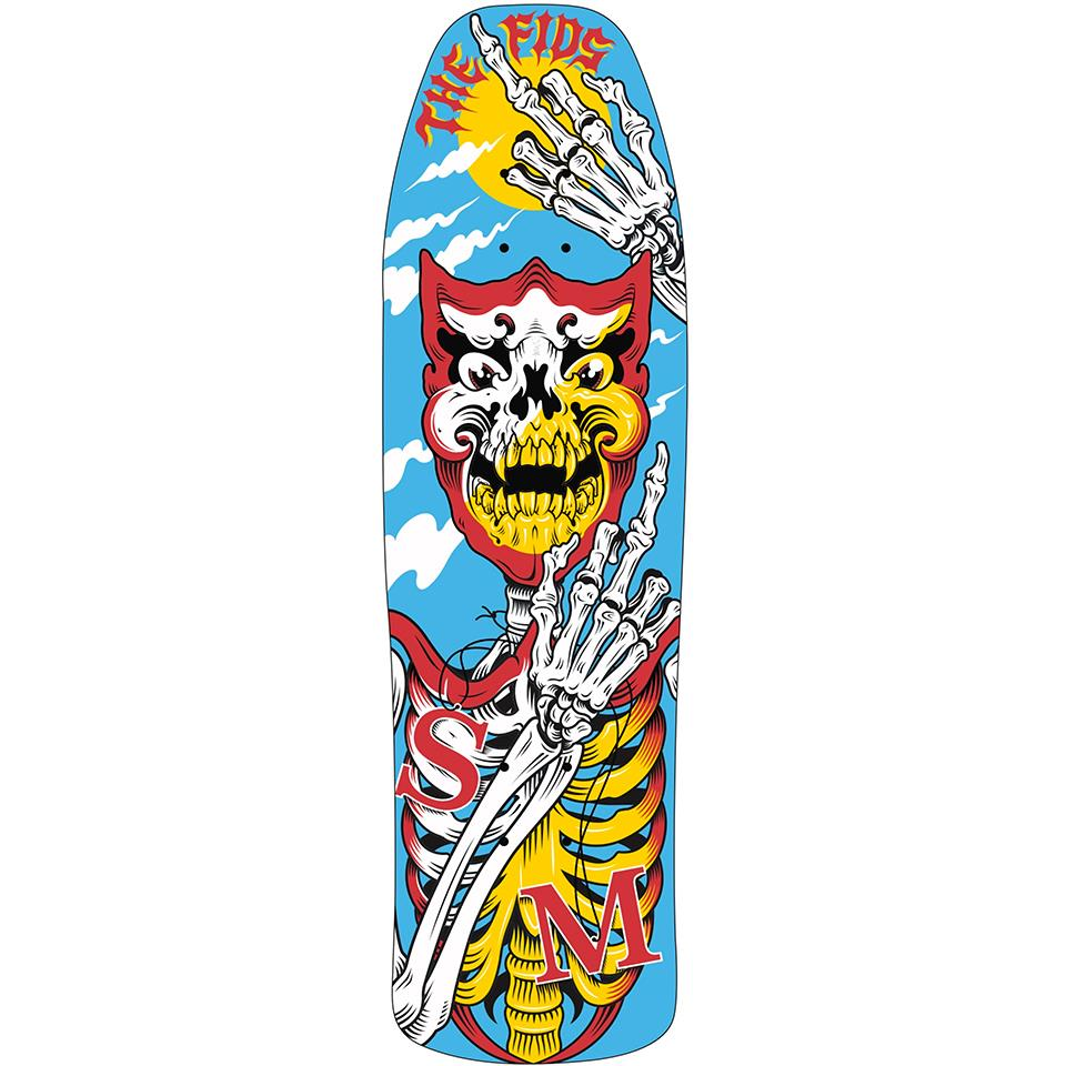 S&M Fids Signature Pool Skate Deck