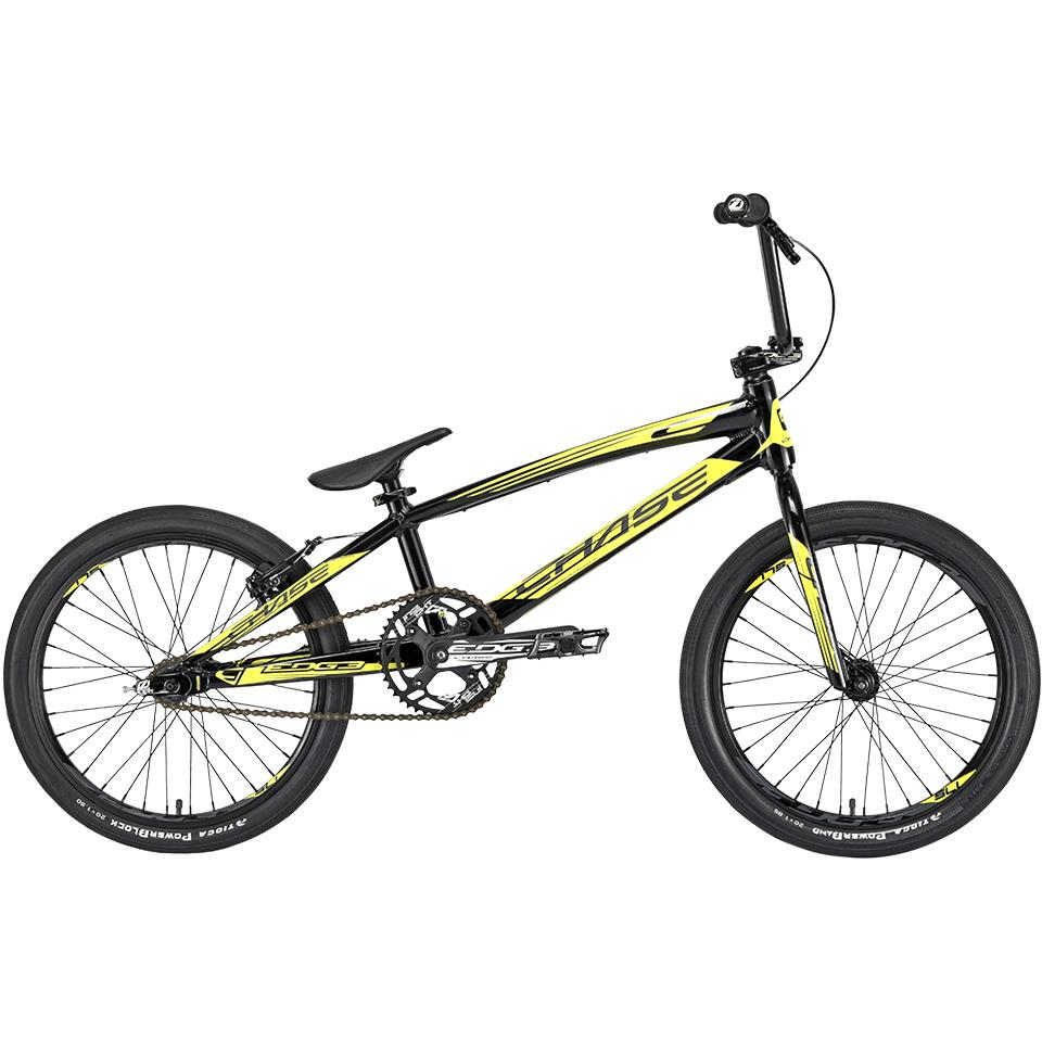 Chase Edge Pro XL 2020 BMX Race Bike/ Black/Neon Yellow