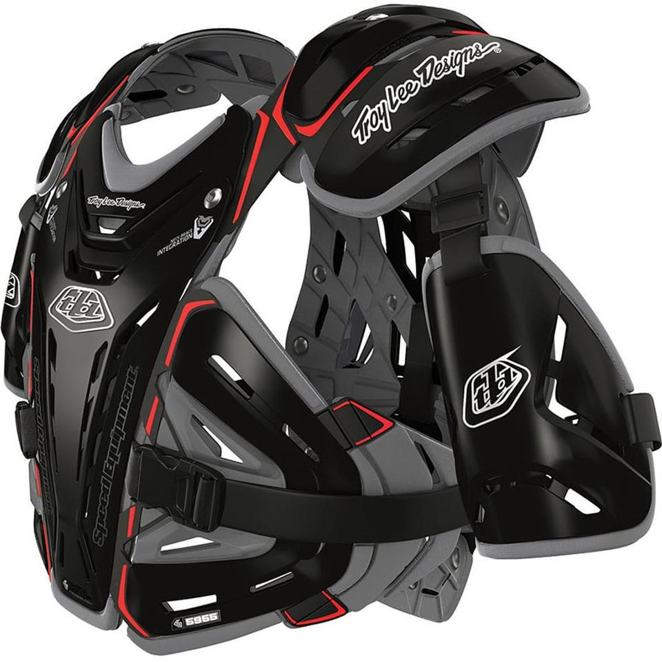 Image of Troy Lee Youth BG5955 Race Chest Protector - Black