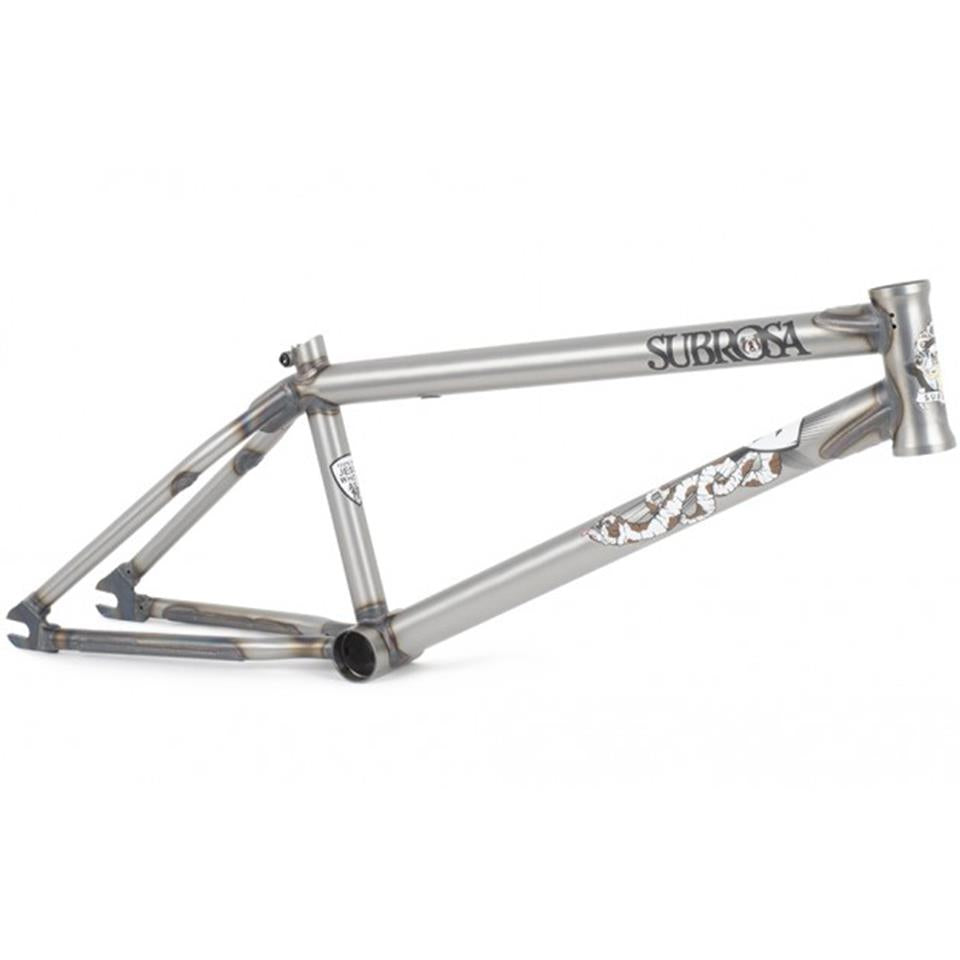 Subrosa Wild Child Frame - Trey Jones - Satin Trans Raw/ 20.75""