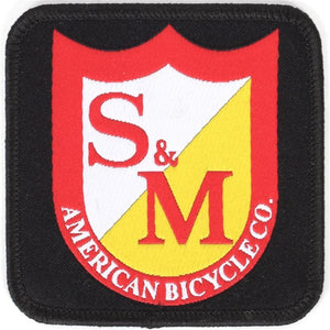 S&M Square Shield Patch