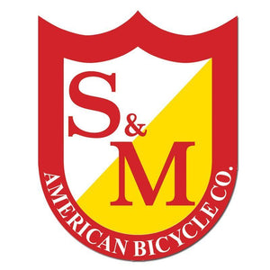 S&M Medium Shield Sticker