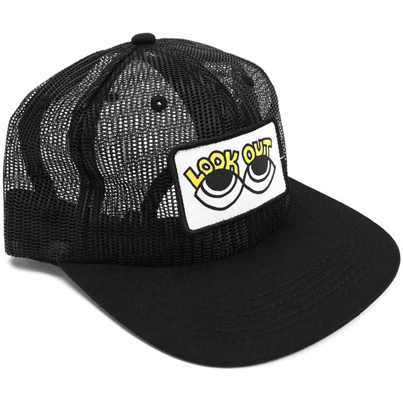 Image of Cult Look Out Above Mesh Cap Black