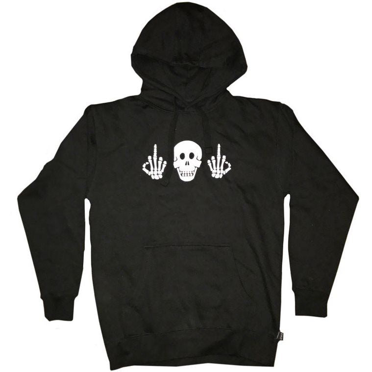 Image of Cult Politics Hooded Sweat - Black