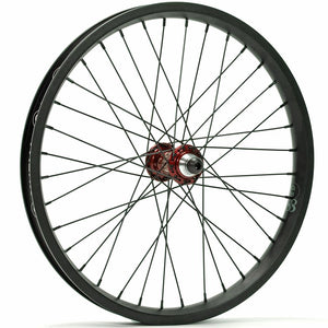 Profile Mini / Cinema 888 / Titanium Spokes Front Custom Wheel