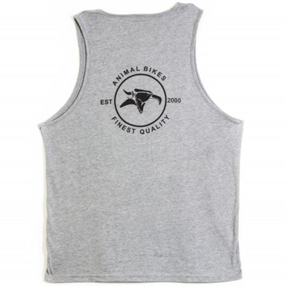 Animal Street's Finest Tank Top - Grey