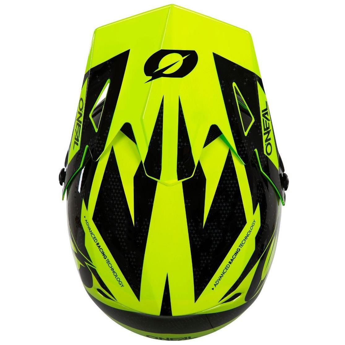O'Neal Sonus Race Helmet - Neon Yellow/Black
