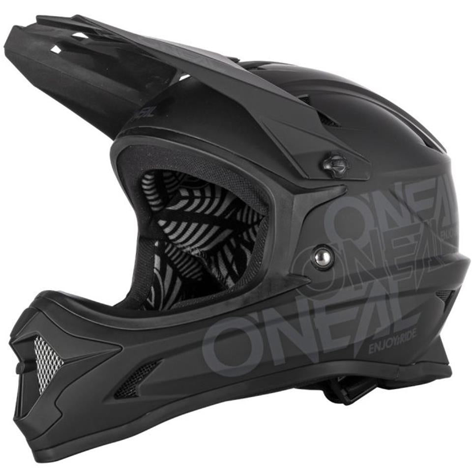 O'Neal Backflip Race Helmet - Solid Black