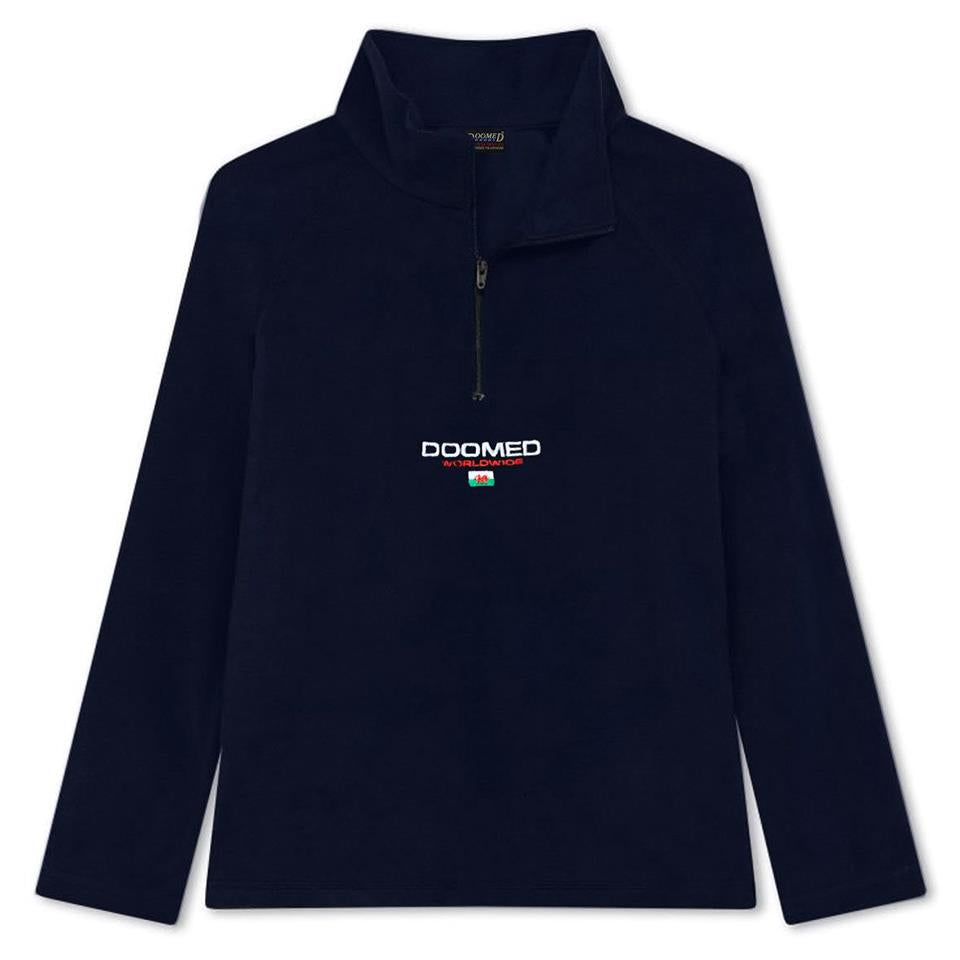Doomed Dolo Fleece - Navy