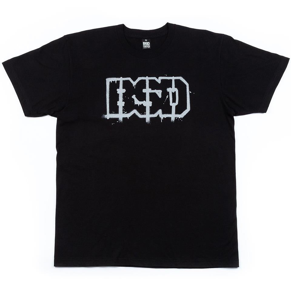 BSD Outline T-Shirt - Black
