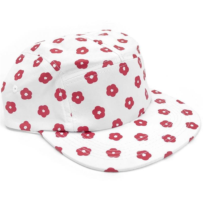 Image of Cult Thorn Prick Camper Hat White