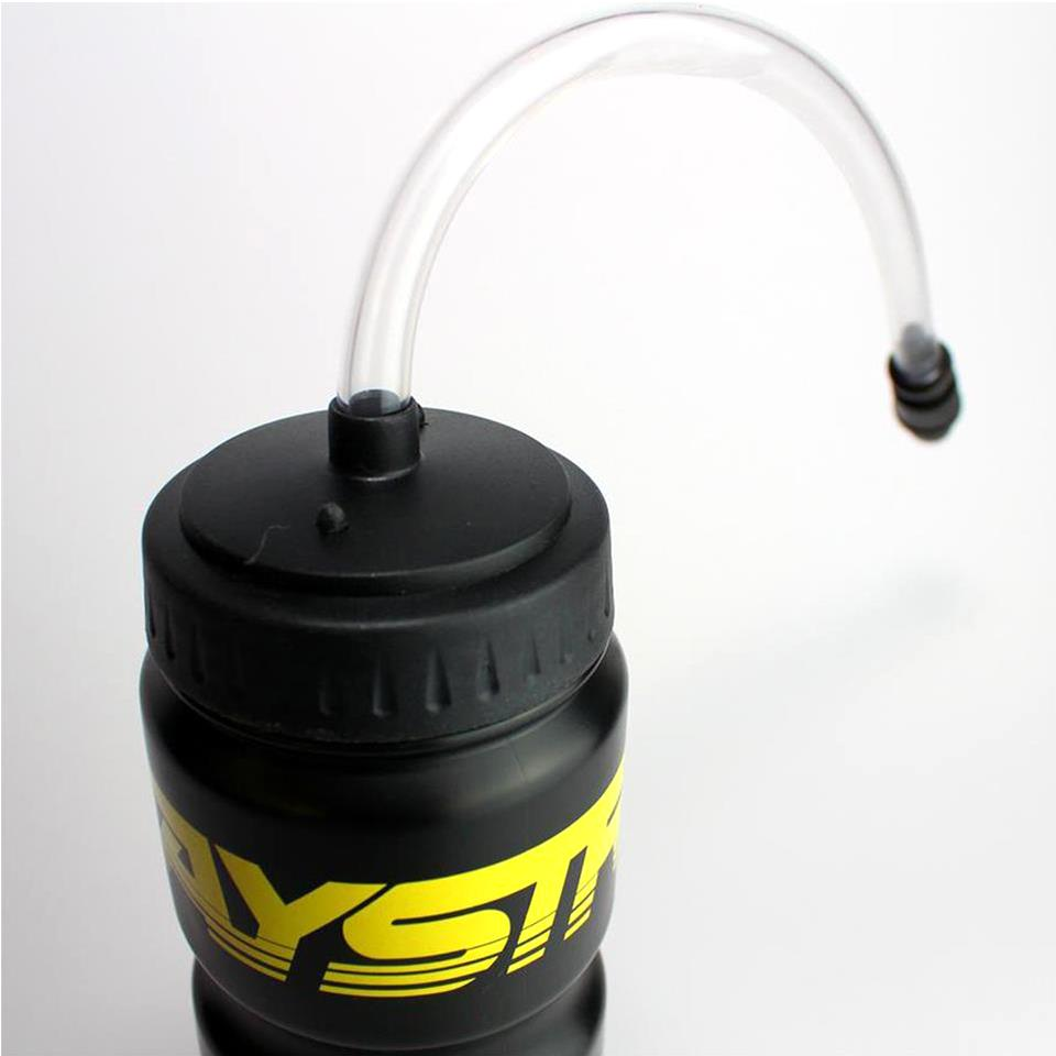 Stay Strong Drinks Bottle - Black/Yellow