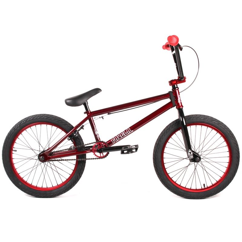 Jet BMX Favela BMX Bike - Burgundy/Red Kit
