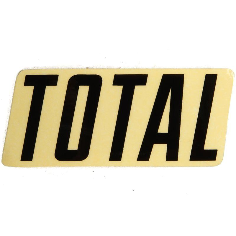 Image of Total BMX New Style Logo Sticker
