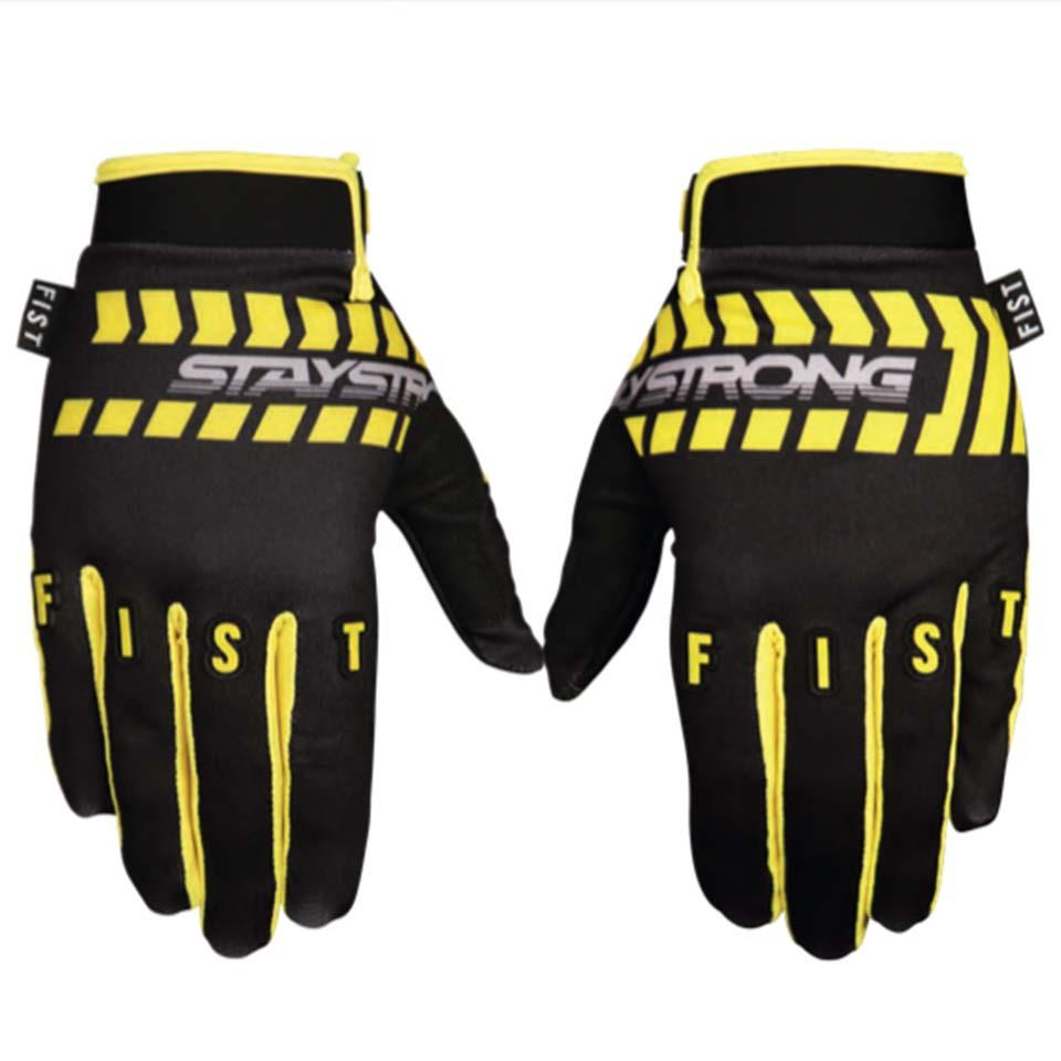 Stay Strong X Fist Chevron Race Gloves