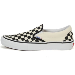Vans Slip On Pro Checkerboard BlackWhite