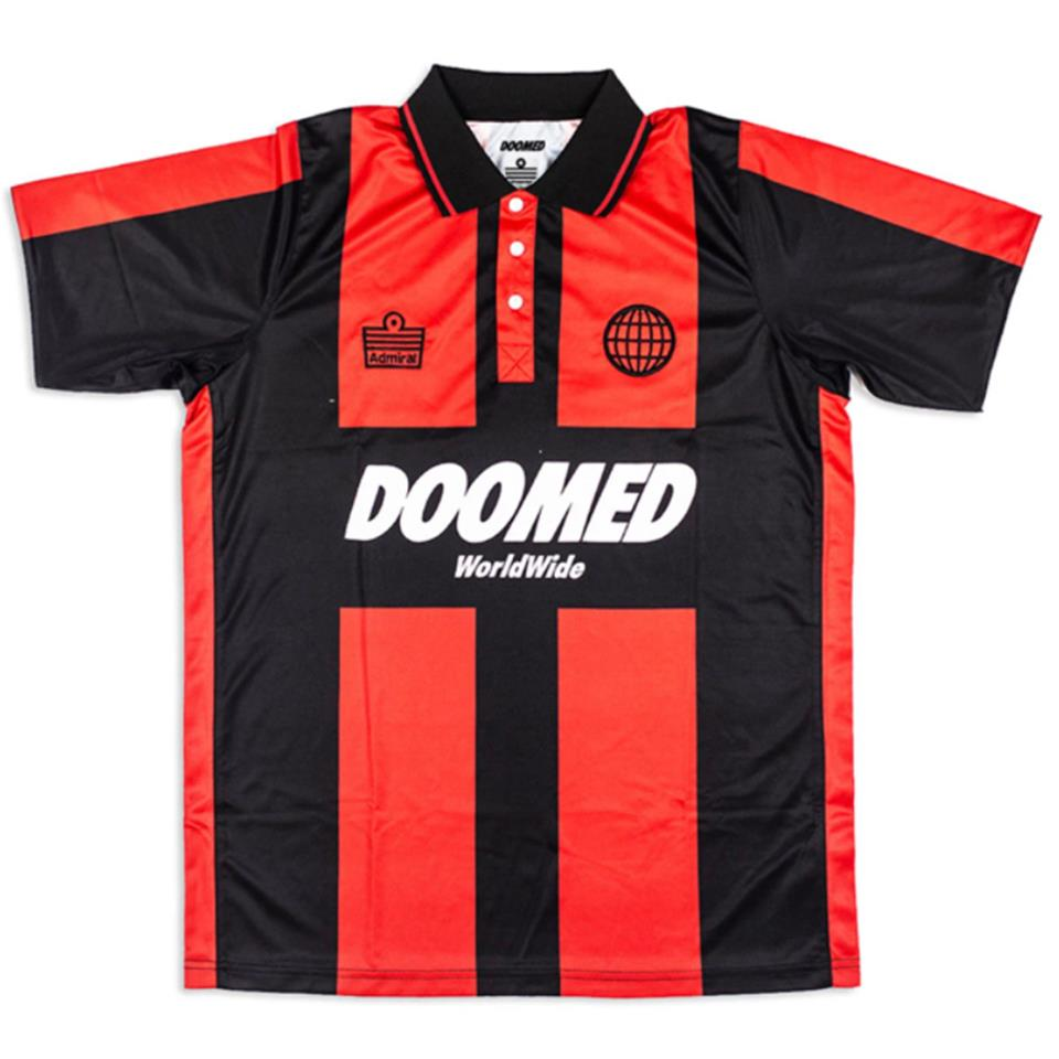 Image of Doomed X Admiral 1899 Football Shirt Black/Red