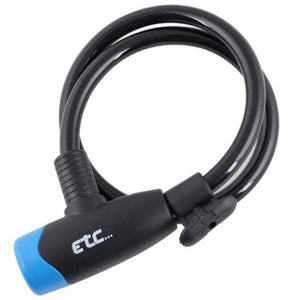 ETC Coil Cable Lock 650mm