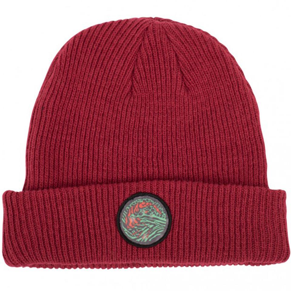 Image of Shadow Chimera Wool Beanie - Red